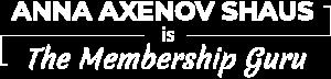 The Membership Guru New Logo 1024 white