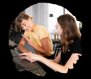 Anna Axenov Shaus UX UI Mentoring chat 4