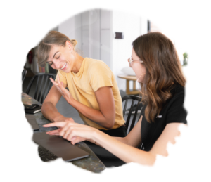 Anna Axenov Shaus UX UI Mentoring chat